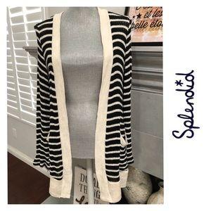 Splendid long cardigan sweater  - with pockets